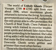 Unholy Ghosts review in the London Times