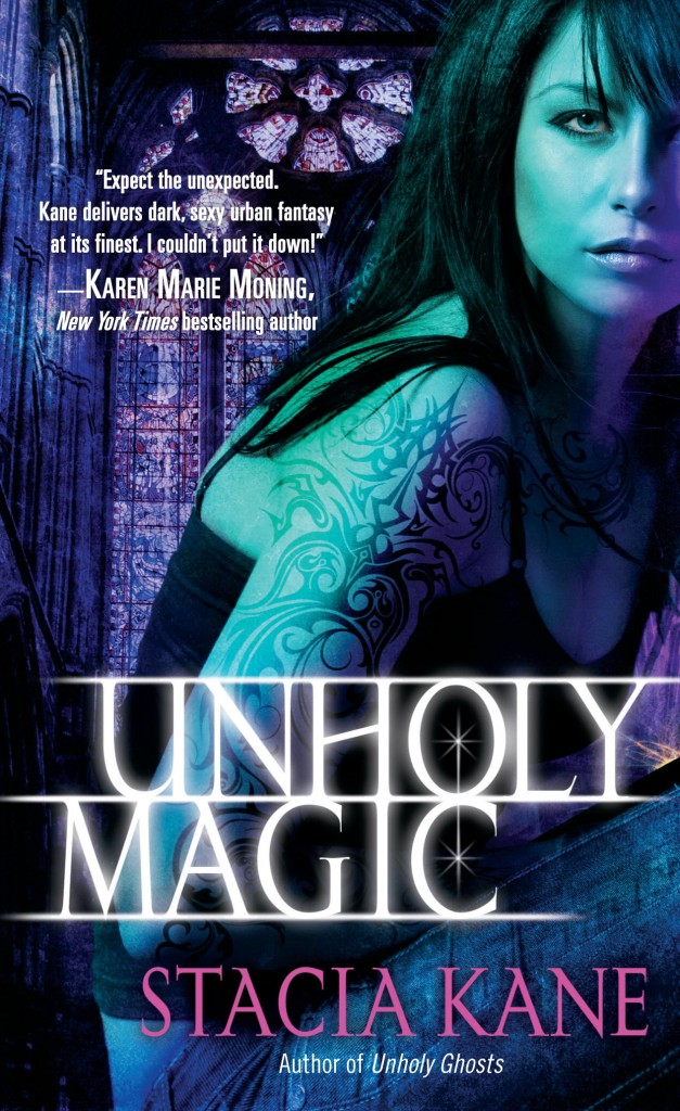 The cover for UNHOLY MAGIC